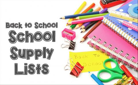 2019-2020 WOCCISD School Supply Lists Available