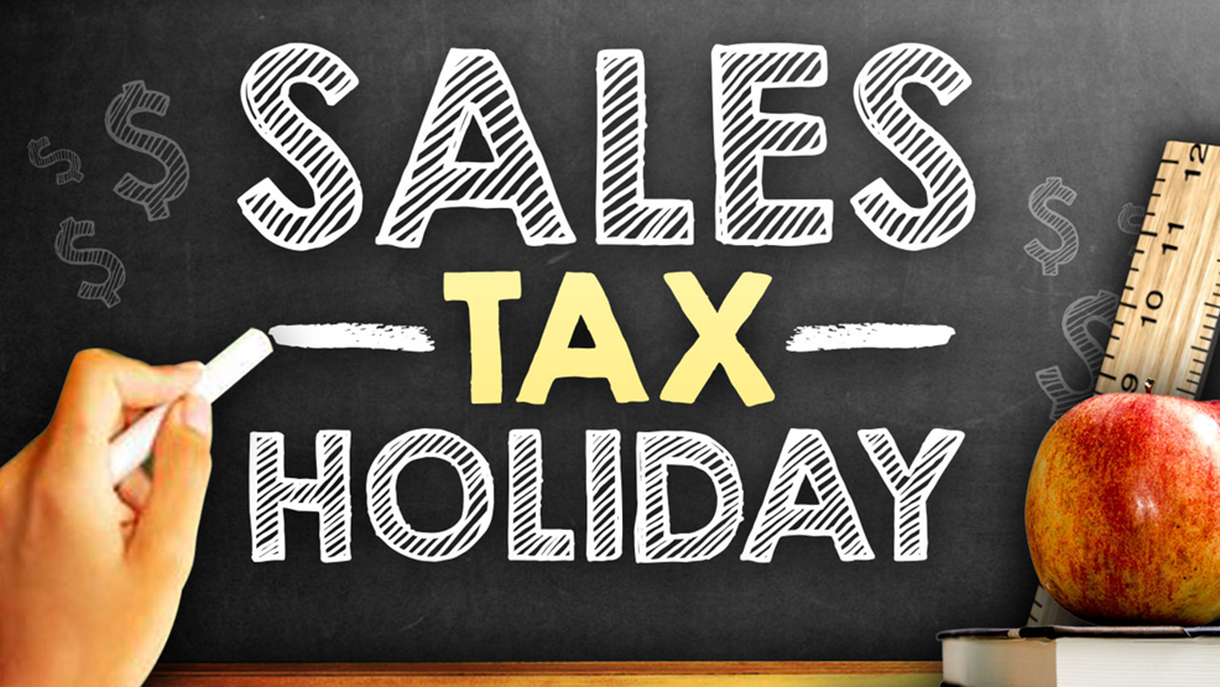 Texas Sales Tax Holiday Scheduled August 9-11, 2019