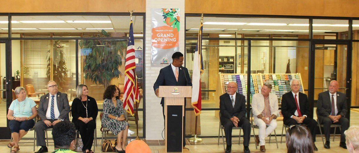 New Orange City Hall Grand Opening Held