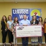 Chevron-Phillips Makes $100,000 Donation to United Way