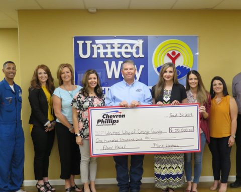 Chevron-Phillips Makes $100,000 Donation to United Way