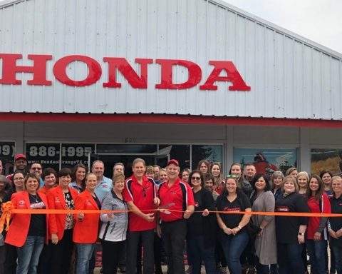 Chamber of Commerce Welcomes Honda of Orange with Ribbon-Cutting