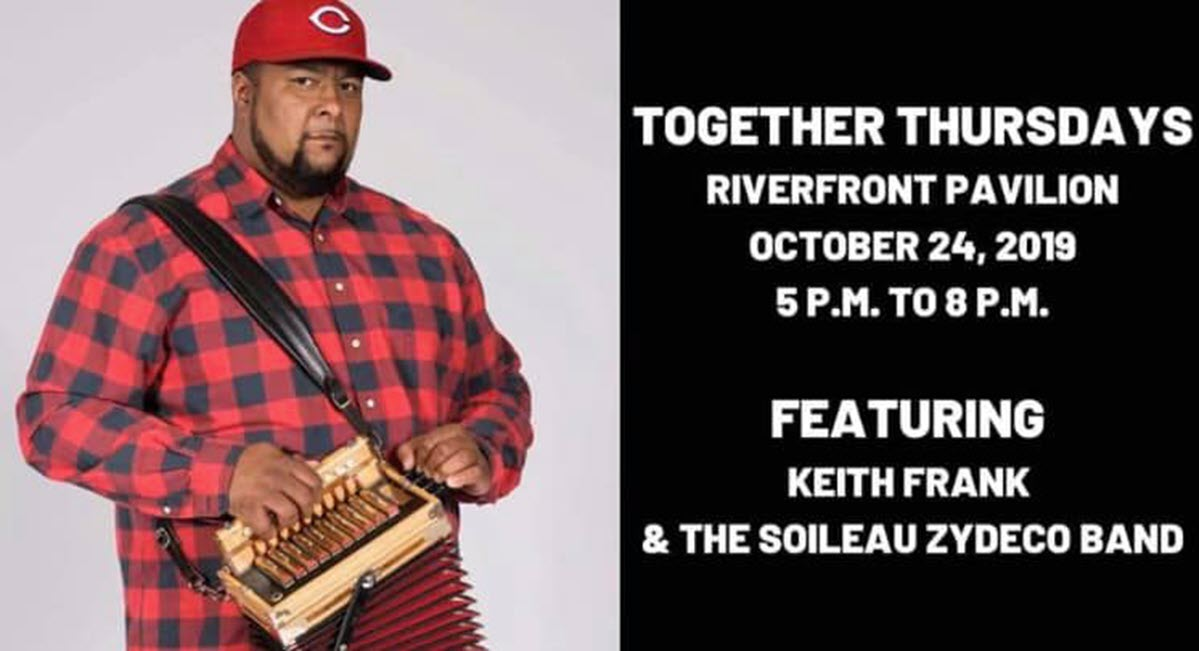 Together Thursdays to Feature Keith Frank and the Soileau Zydeco Band