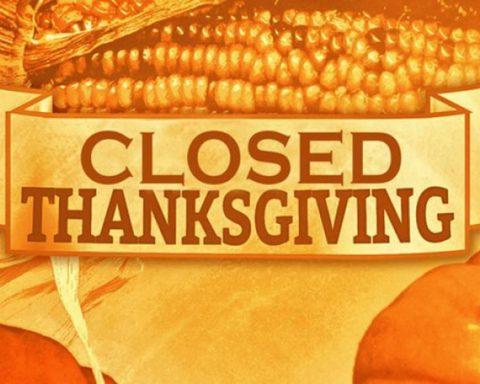Thanksgiving Closures