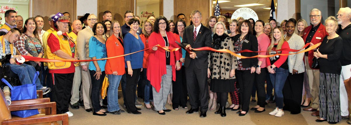 Ribbon Cutting Held For New Offices of Congressman Brian Babin