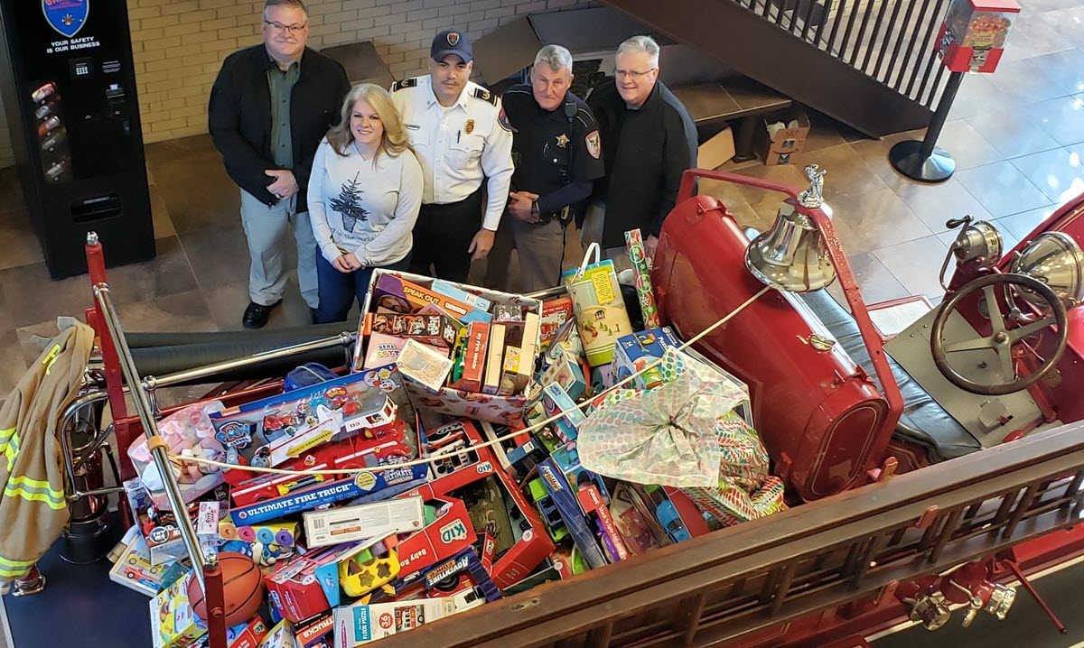 OFD's 2019 Fill the Truck Event a Huge Success