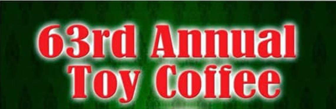 63rd Annual Toy Coffee Planned for December 5