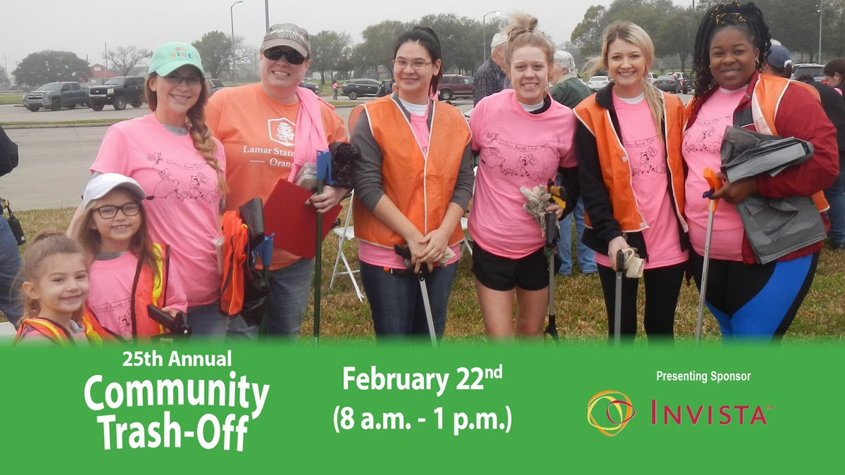 25th Annual Community Trash-Off Scheduled for February 22