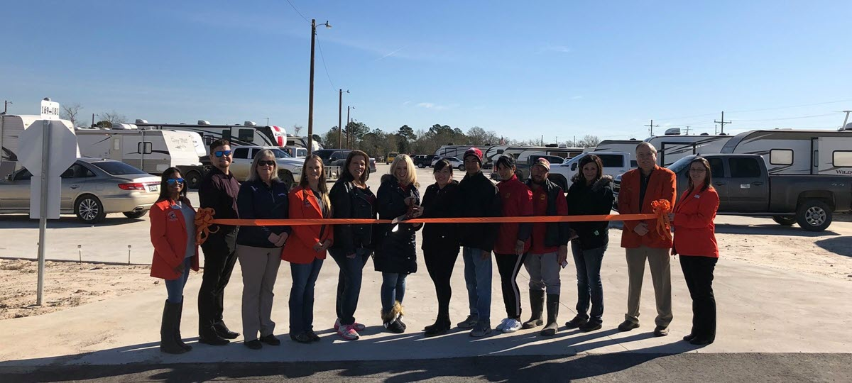 Orange Texas RV Resort Opens for Business