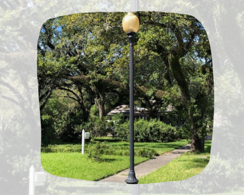 Decorative Streetlights for Sale in Old Orange Historic District