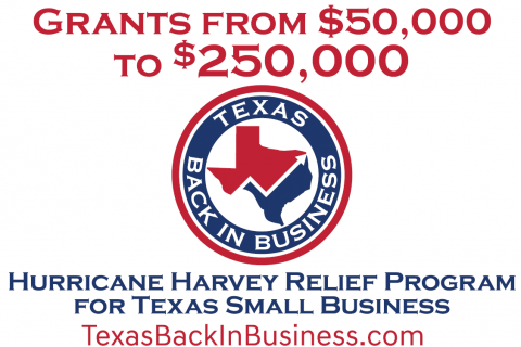 Texas Back in Business Program Available to Help Businesses Damaged by Hurricane Harvey