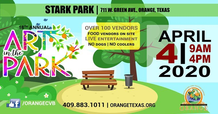 Art in the Park 2020 Dates Announced