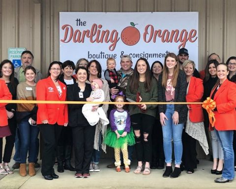 Ribbon Cutting Held at Darling Orange Boutique and Consignment