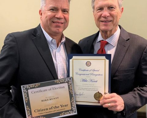 Kunst Named Citizen of the Year by Vidor Chamber of Commerce