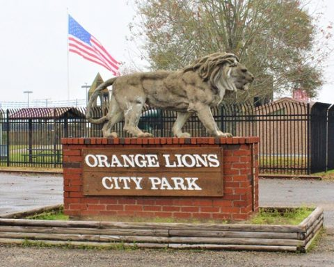 Orange Lions City Park Closed Indefinitely