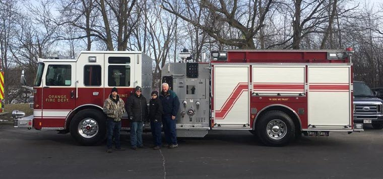 Orange Fire Department Purchases New Truck