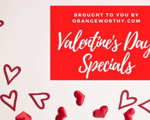 Orange Area Valentine's Day Specials 2020
