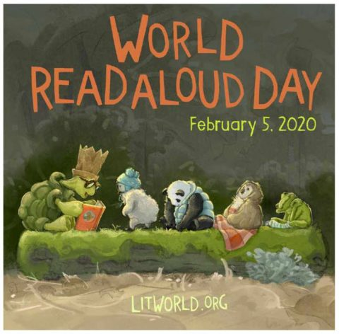 Orange Public Library Celebrating Read Aloud Day