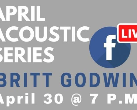 Britt Godwin Appearing April 30 in Virtual Acoustic Series