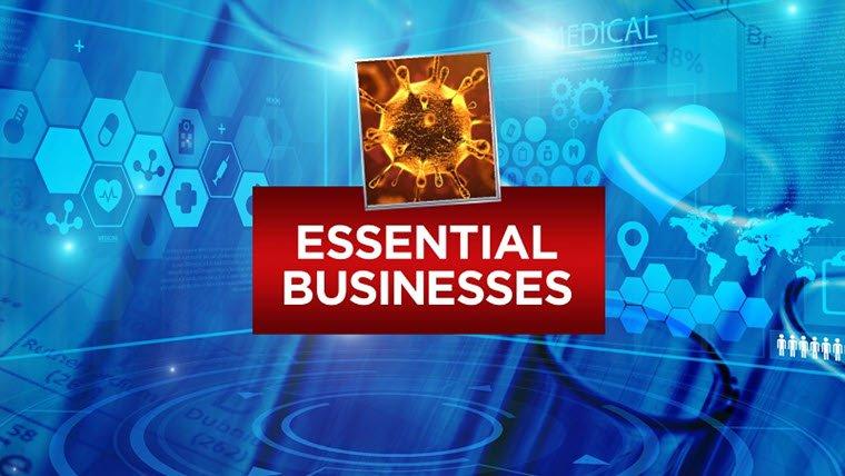 Essential Business and Restaurants Still Open in Orange