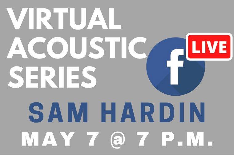 OCVB Hosts Sam Hardin in Virtual Acoustic Series on Thursday