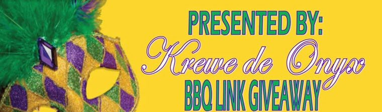 Krewe de Onyz Plans BBQ Link Giveaway on May 23