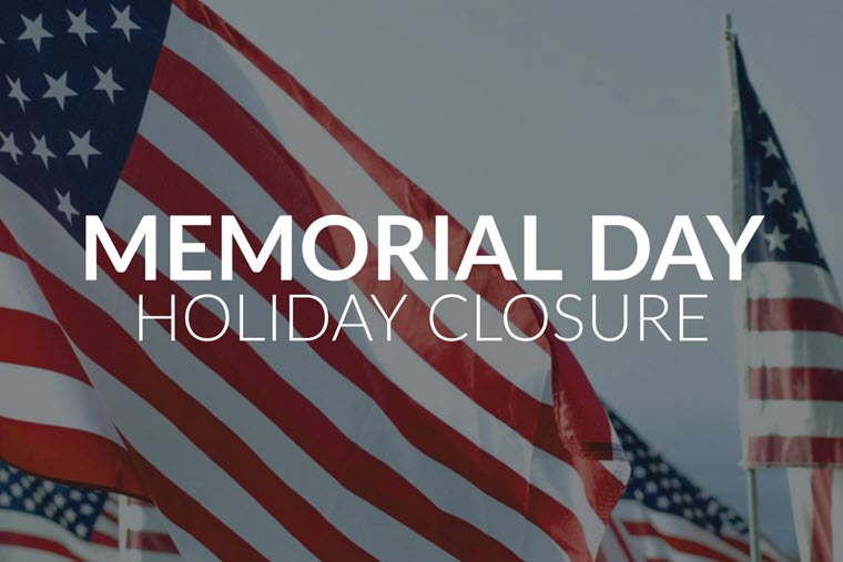 City of Orange Memorial Day 2020 Closures