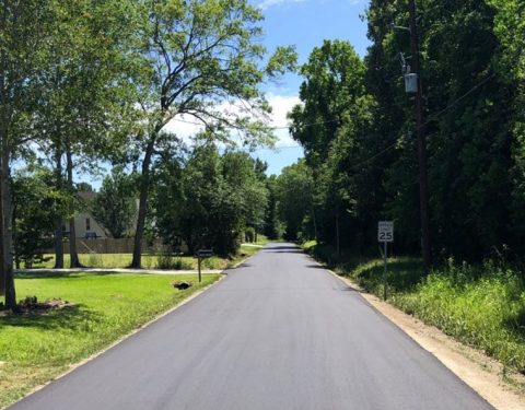 City of Orange Completes Road Construction to Five Streets