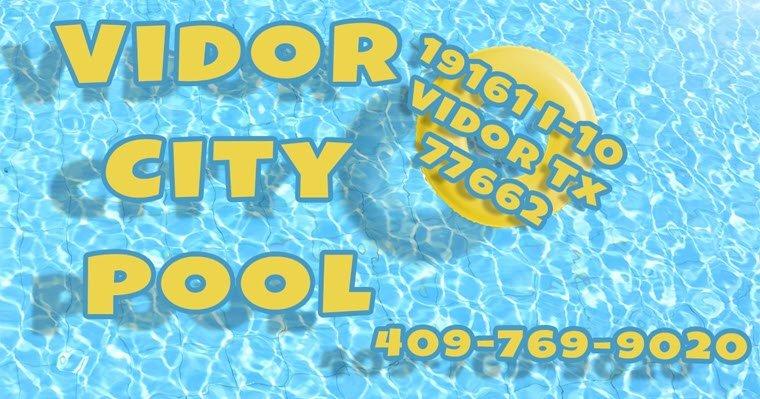 Vidor City Pool Work in Progress