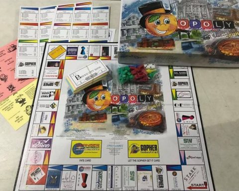 Orange Lion Club's Orangeopoly Game Now For Sale Locally