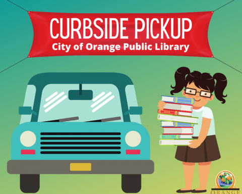 Orange Public Library Reinstating Curbside Circulation