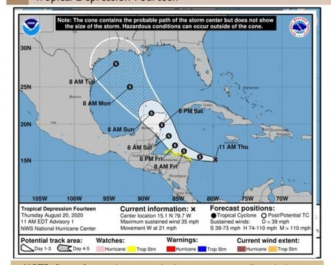 Southeast Texas Watching Tropical Depression 14