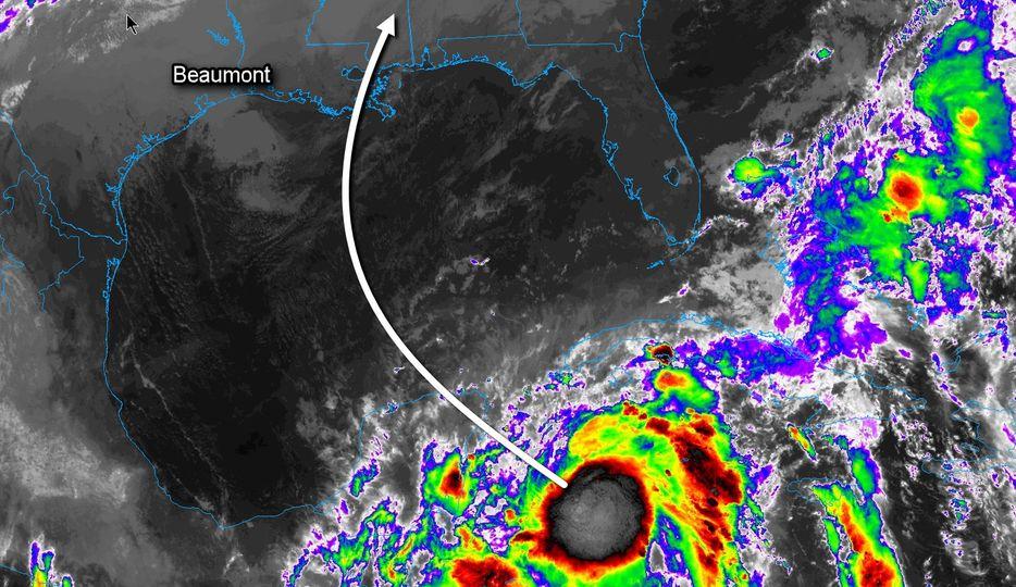 Zeta Expected to Bring Rain to SE Texas