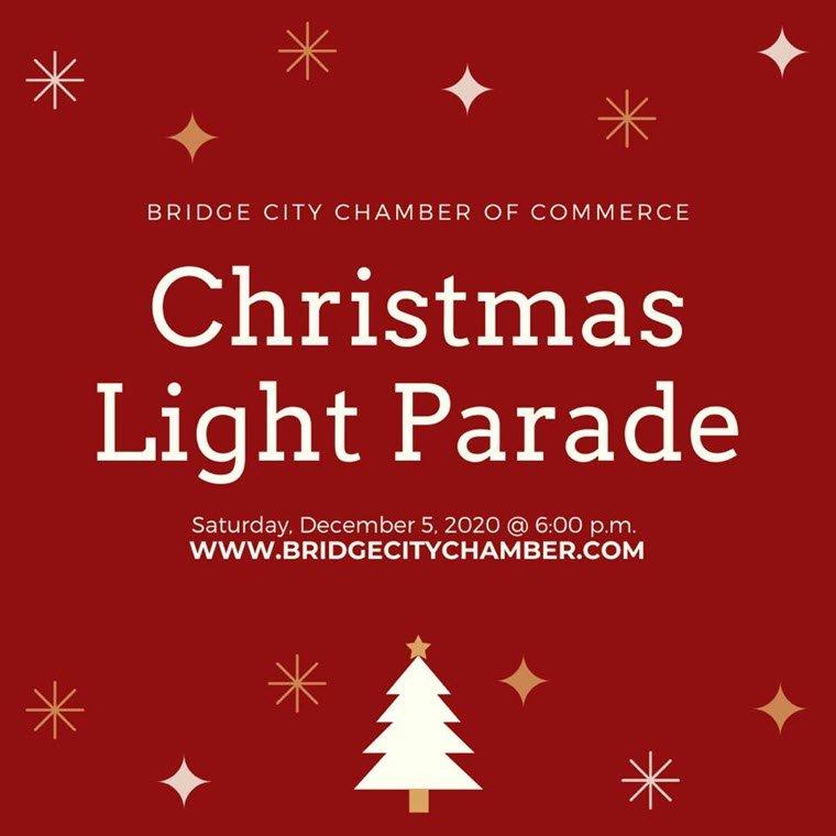 Bridge City Chamber Sponsoring 12th Annual Christmas Light Parade