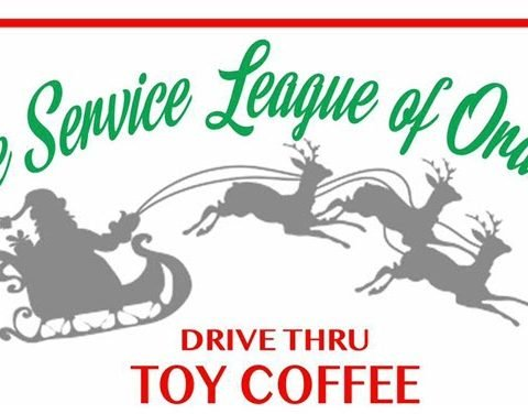 Service League of Orange Changes Toy Coffee Format