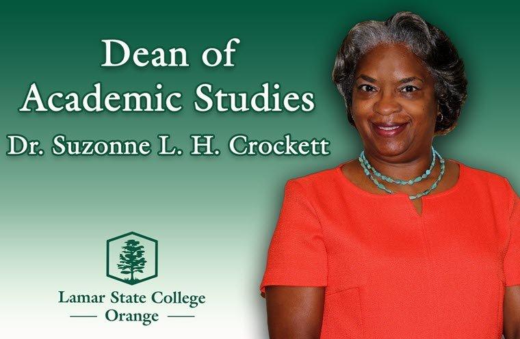 Crockett Selected as Dean of Academic Studies at LSCO