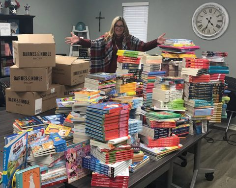 Bookseller Donates 1500 Books to CASA of the Sabine Neches Region
