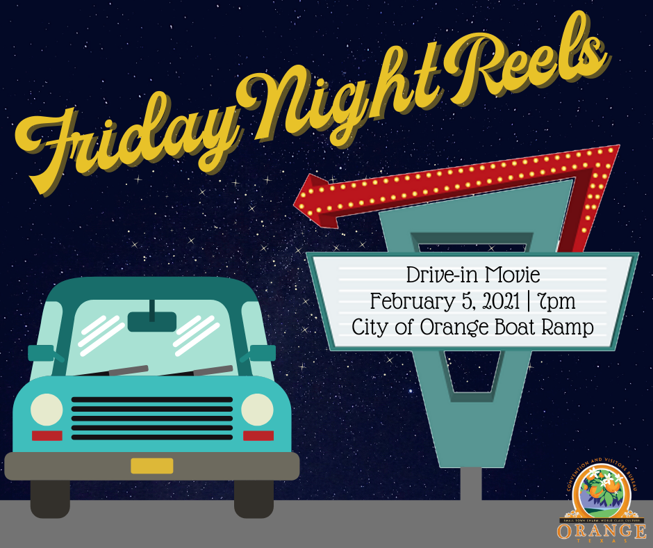 Friday Night Reels Drive In Movie Event Scheduled for Feb. 5