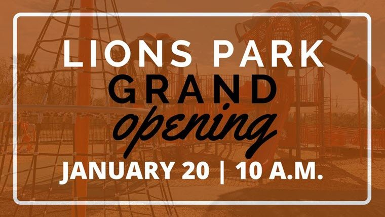 City of Orange Set Lions Park Grand Opening