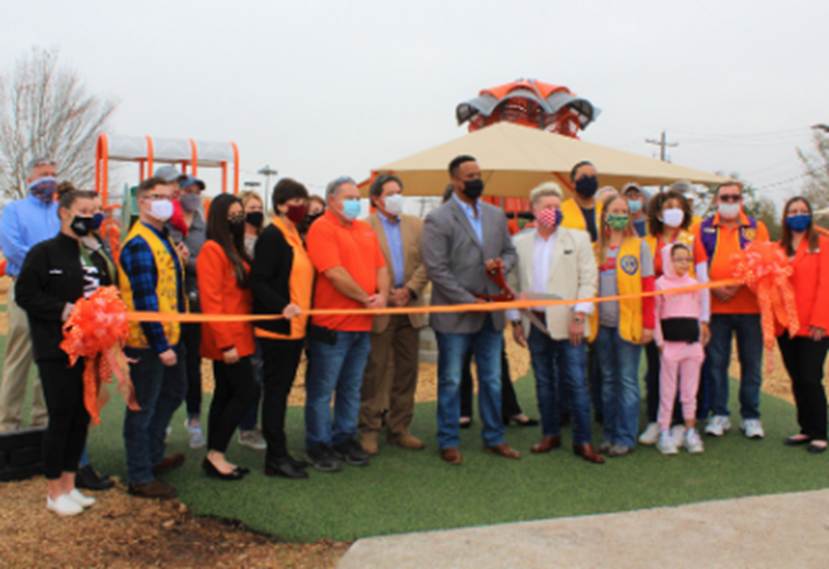 Lions Park Playground Reopens to Public