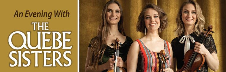 Lutcher Theater Hosts A Western Swing Spring Fling - An Evening With The Quebe Sisters