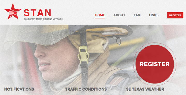 Register with STAN for Updates in Emergency Situations