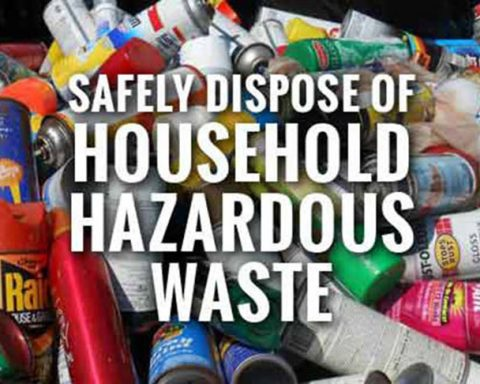 Household Hazardous Waste and Scrap Tire Collection Event Planned for May 15